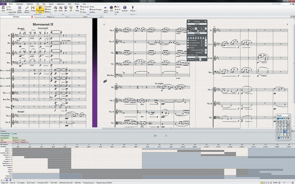 Sibelius 75 - Vzdelávacie kurzy