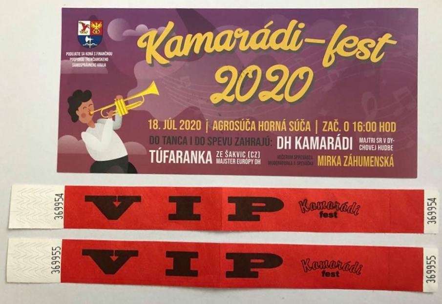Kamaradi fest Súťaž o lístky - Blog