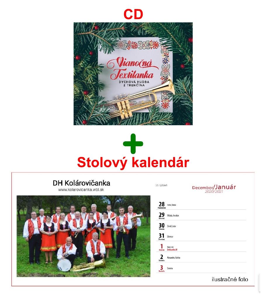 CD kalendar - Tip na Vianočný darček