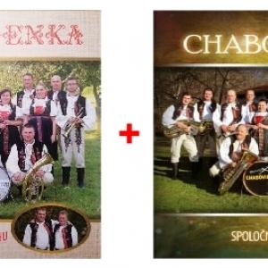 2 CD Chabovienka – My chceme HU a Spoločne 30 rokov